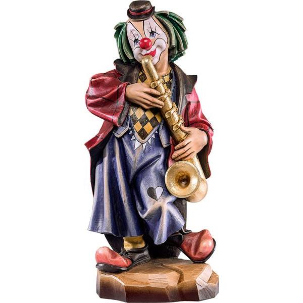 Clown Saxophonist