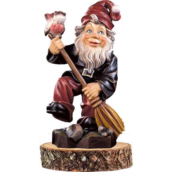 Home-gnome on pedestal