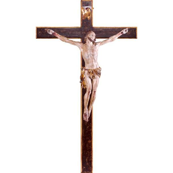 Christ of passion with cross