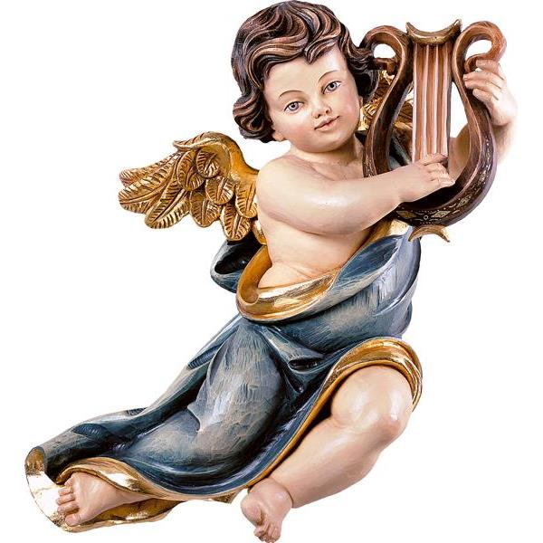Marian cherub with lyre