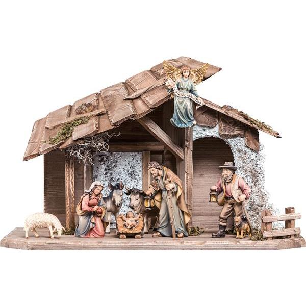 Nativity-set H.K. 10 pieces