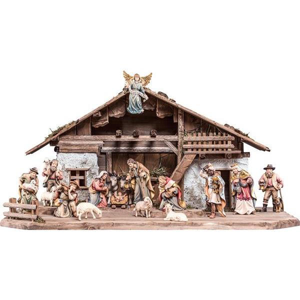 Nativity-set H.K. 18 pieces