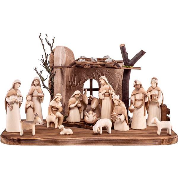 Nativity-set Fides 17 pieces