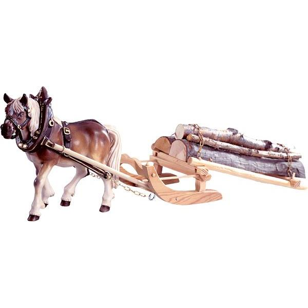 1 Draw-horse with woodsledge